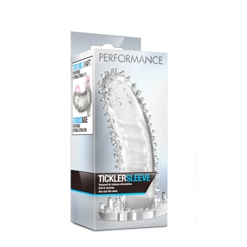 PERFORMANCE TICKLER SLEEVE CLEAR